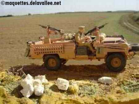 Sultanat d'Oman - Guerre du Dhofar 1964-1976 -Land Rover Pink Panther