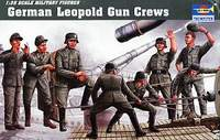 German Leopold Gun Crews (Trumpeter)