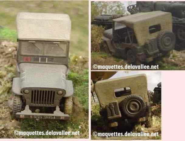 maquettes militaires et dioramas au 35e jeep willys. Black Bedroom Furniture Sets. Home Design Ideas