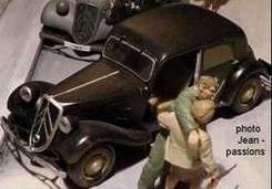 Maquette 97 - CITROEN TRACTION 11cv